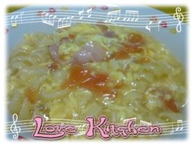 トマトとマカロニのふんわりスープ