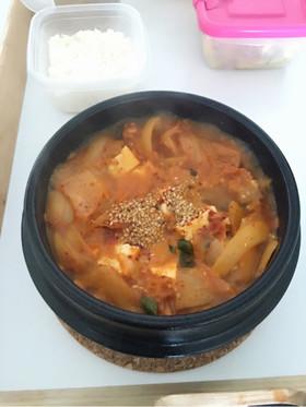 本格韓国キムチチゲ