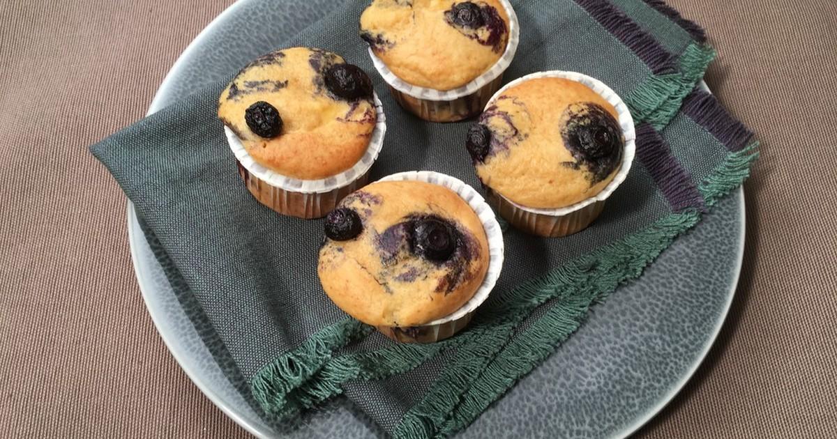 あっという間のブルーベリーマフィン by レシピの女王 [クックパッド] 簡単おいしいみんなのレシピが268万品