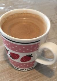 牛さんとお豆さんのカフェラテ