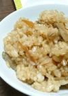 ツナとゴボウの炊き込みご飯。