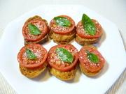 トマトのブルスケッタの写真