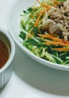 ヘルシー味噌つけ麺