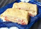 和風味が合うよ♪トマトとチーズの卵焼き!