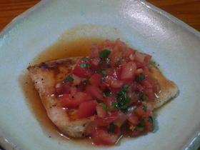 めかじきのソテーフレッシュトマトソース