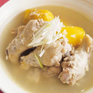 手羽の韓国風おかずスープ