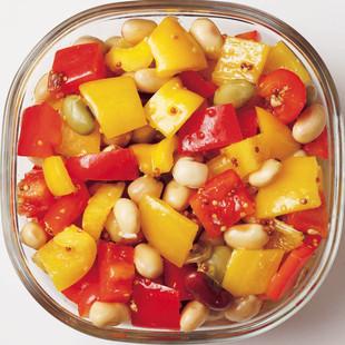 豆とパプリカのデリサラダ