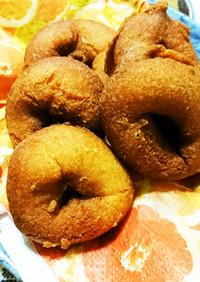 黄な粉入り米粉ドーナツ