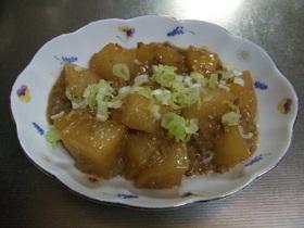 ご飯がススム 大根のそぼろ味噌煮
