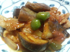 煮込み不要☆豚肉のトマト煮
