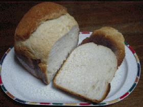 ホームベーカリーで天然酵母食パン