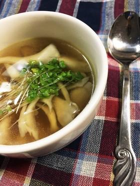 5分!包丁要らず!舞茸スープ