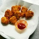 お魚がパクパク食べれる豆腐の揚げ物