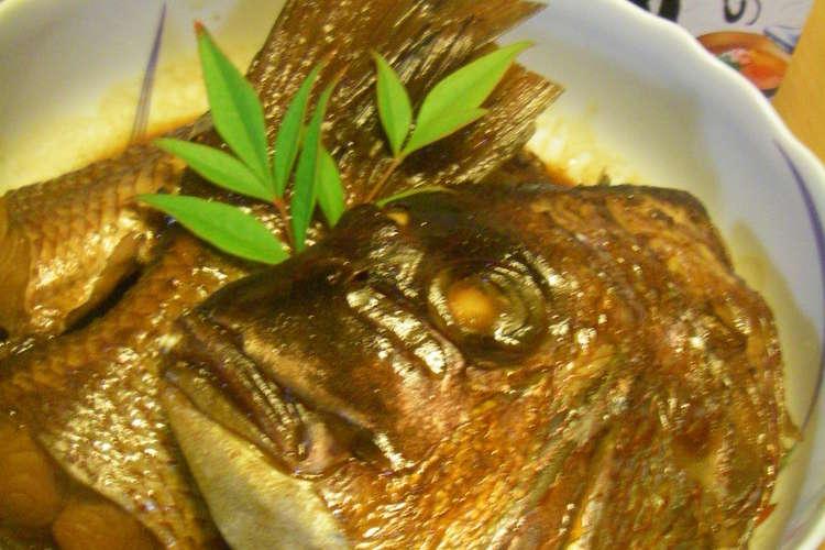 板さん仕込✿鯛のアラ炊き レシピ・作り方 by このこのまんま ...