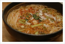 坦坦にゅう麺