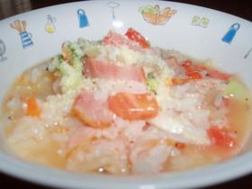 冷ご飯で簡単トマトリゾット
