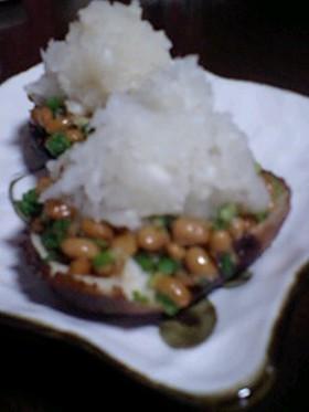一口おつまみ椎茸納豆