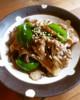 豚肉と舞茸の生姜炒め♪