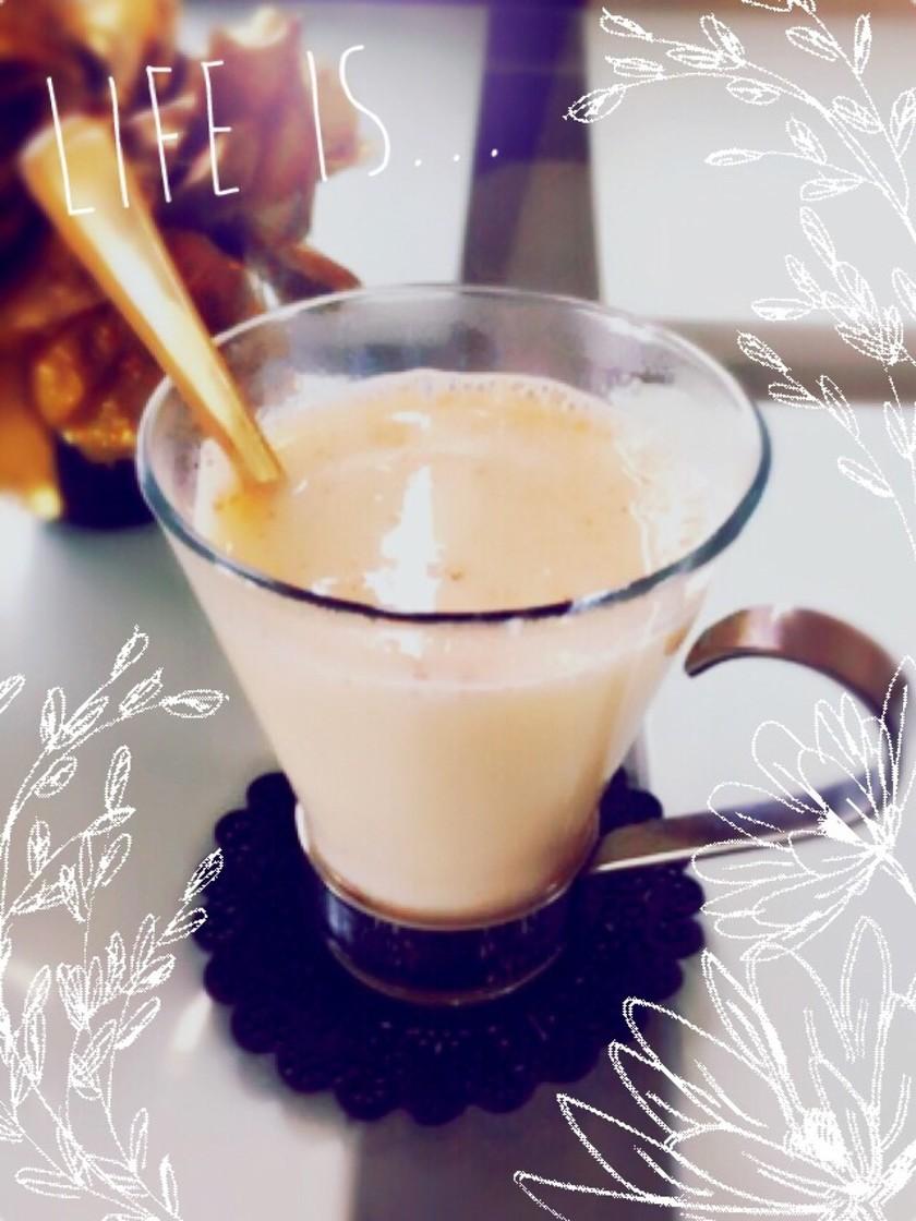 ♡アップルパイ風豆乳ドリンク♡