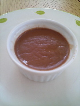 トロッ・プルッ♪チョコレート豆乳プリン