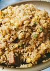 生米から作る♥️パエリア式チャーハン♥️