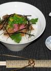 鯛の漬け丼(*^-^*)から鯛茶漬け♪