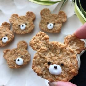 由美子のザクザクオートミールクッキー