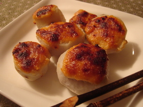 里芋の味噌チーズ焼き☆