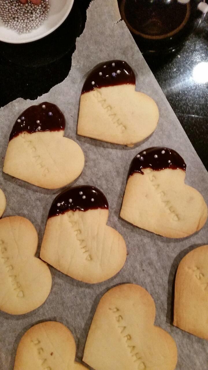 簡単クッキー バレンタイン・ホワイトデー