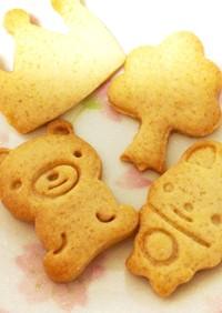 簡単 基本の型抜きクッキー