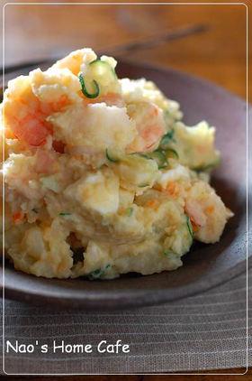 豆乳海老ポテトサラダ