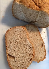 HBでライ麦50%パン
