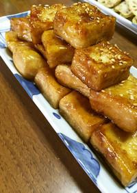 揚げ高野豆腐の生姜煮〜つわり・妊婦飯〜