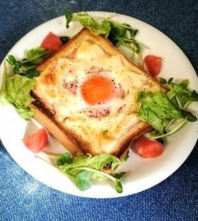 食パンdeガレット気分トースト