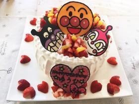 2歳 アンパンマンバースデーケーキ