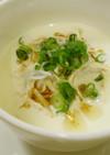 漢方医お勧め薬膳!豆腐干絲の豆乳スープ