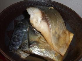 塩鯖の酒蒸し焼