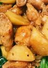 えのきと豚の巻き巻き煮