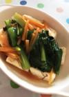 焼き出し豆腐の野菜あんかけ