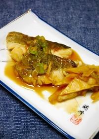 簡単!鱈と白舞茸の照り煮