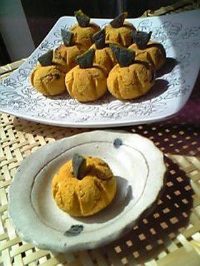 ヘルシーおやつ★かぼちゃ&おからの団子風