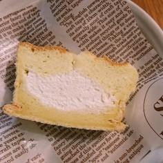クリームinシフォンケーキ