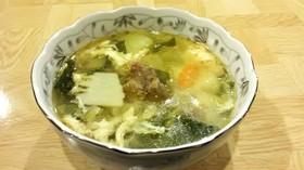 【ジビエ】シカすじ肉の中華スープ