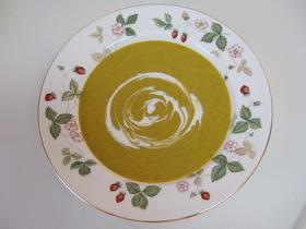 チーンとミキサーで丸ごとかぼちゃスープ!