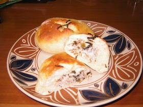 びっくり☆高菜おむすびパン