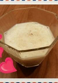 風邪に♥簡単すりおろしりんごの牛乳かけ♪