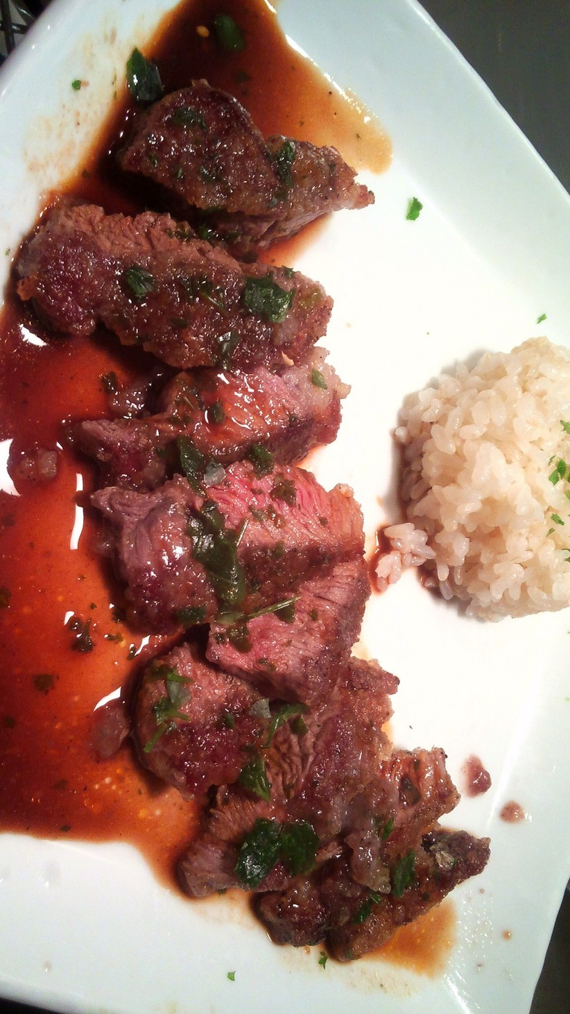 仔羊ランプ肉の✨竜田焼き