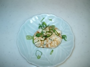 鶏ミンチの豆腐だんごの写真