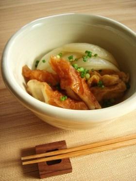 玉ねぎとちくわのジューシー味噌煮