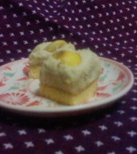 和風くりケーキ